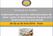 Session de Formation sur le thème  « Conformité aux normes internationales de lutte contre le blanchiment d'argent et le financement du terrorisme »