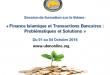 Session de formation sur le thème : «Finance Islamique et Transactions Bancaires: Problématiques et Solutions»