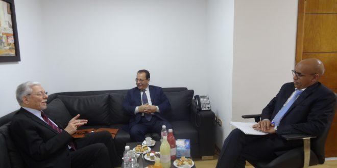 Visite de S.E. Mr Taieb BACCOUCHE au siège de l'UBM