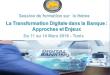 Session de formation sur le thème «La Transformation Digitale dans la Banque : Approches et Enjeux»