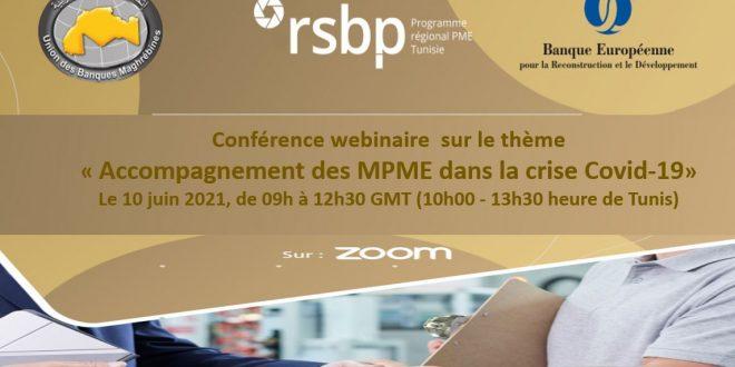 visioconférence sur le thème  «Accompagnement des MPME dans la crise Covid-19 »